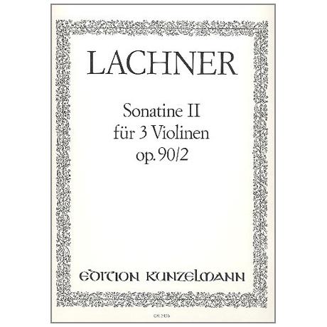 Lachner, F.P.: Sonatine D-Dur Op.90,2