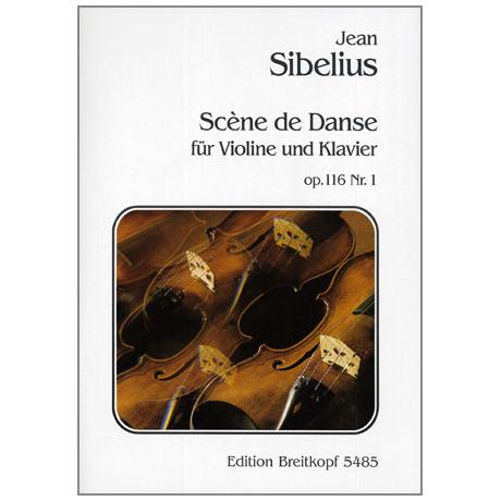 Sibelius, J.: Scène de danse op.116 Nr.1