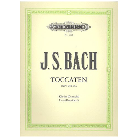 Bach, J.S.: Toccaten BWV 910-916