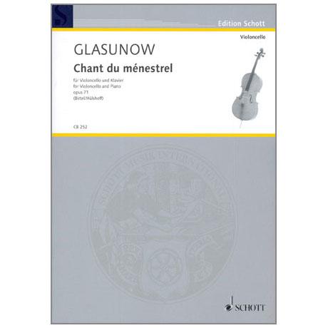 Glasunow, A.: Chant du Ménestrel Op. 71