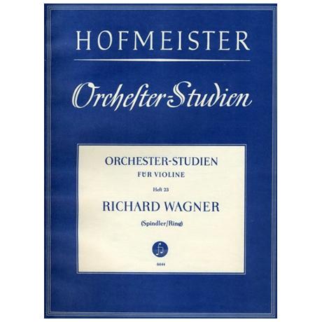 Ring, H./Spindler, F.: Orchesterstudien Heft 23: Wagner – Siegfried