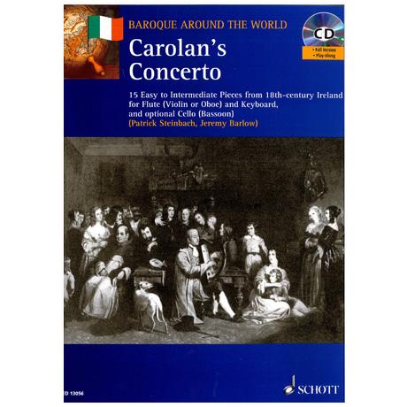 Steinbach, P./Barlow, J.: Carolan's Concerto (+ CD) – 15 Stücke für Violine