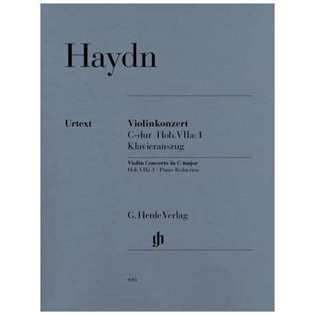 Haydn; J.: Violinkonzert C-Dur, Hob. VIIa:1