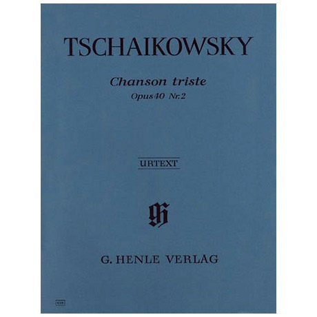 Tschaikowski, P. I.: Chanson triste Op. 40,2