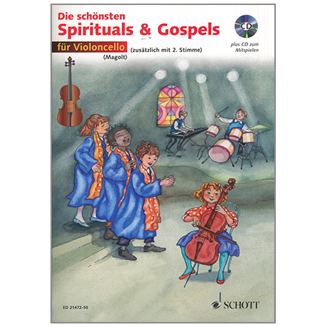 Magolt, M. & H.: Die schönsten Spirituals & Gospels (+CD)