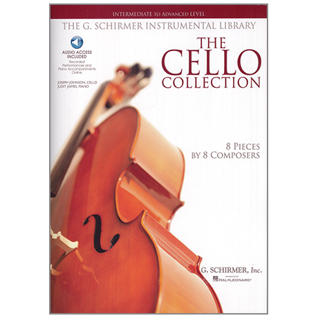 The Cello Collection intermediate to advanced level (+Online Audio)