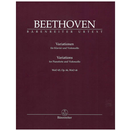 Beethoven, L. v.: Variationen Op. 66 WoO 45 / WoO 46