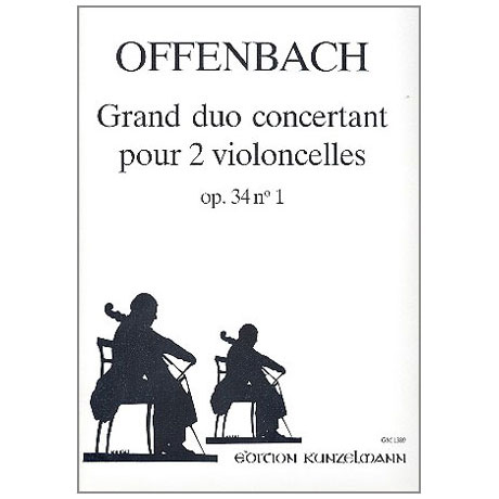 Offenbach, J.: Grand Duo concertant op.34/1