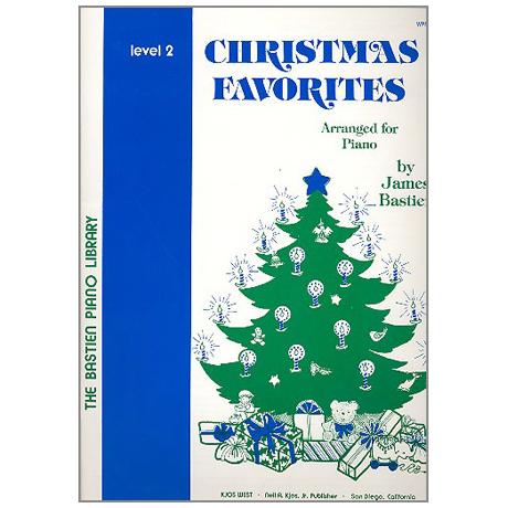 Bastien, J.: Christmas Favorites - Stufe 2