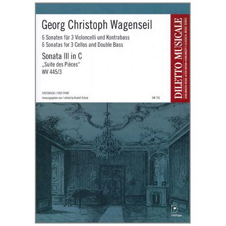 Wagenseil, G.C.: 6 Sonaten Band 3 Nr.3 C-Dur »Suite des Pièces«