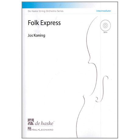Koning, J.: Folk Express (+CD)