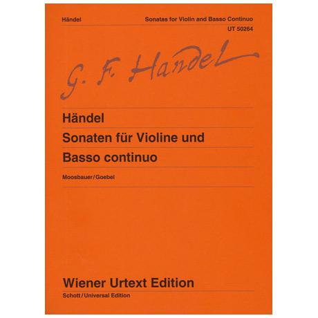 Händel, G.F.: Sonaten für Violine und Basso continuo
