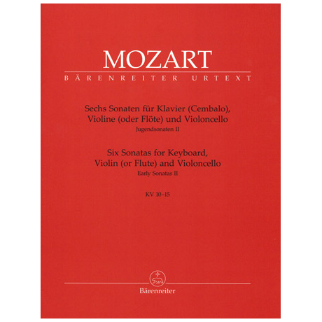Mozart, W.A.: 6 Sonaten KV10-15
