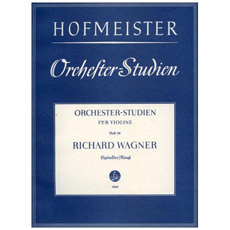 Ring, H. / Spindler, F.: Orchesterstudien Heft 24: Wagner – Götterdämmerung
