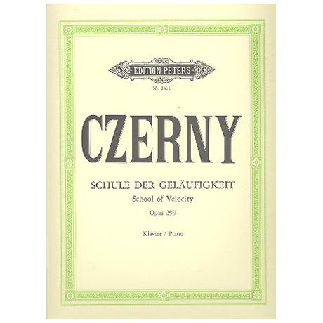 Czerny, C.: Die Schule der Geläufigkeit Op. 299