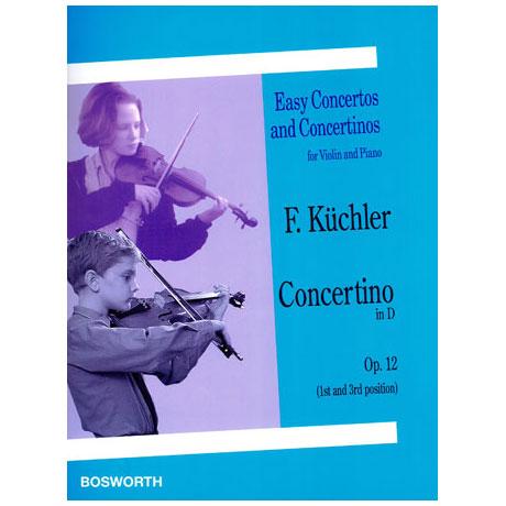 Küchler: Concertino in D-Dur op.12