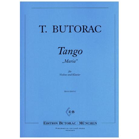 Butorac, T.: Tango MARIA