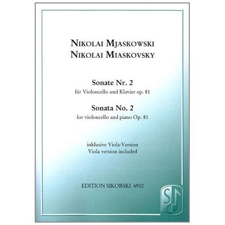 Mjaskowski, N.: Sonate Nr. 2, op. 81