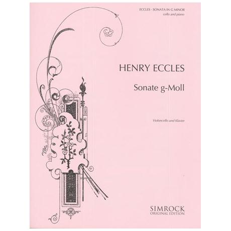 Eccles, H.: Sonate g-moll