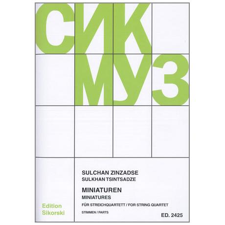 Zinzadse, S.: Miniaturen