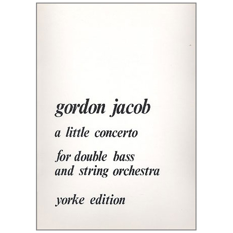 Jacob, G.: A Little Concerto