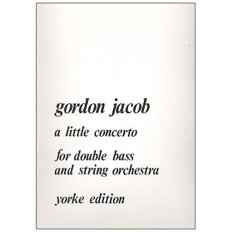 Jacob, G.: A Little Concerto