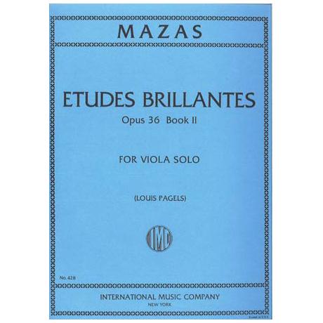 Mazas, J.: Etudes Brillantes Op. 36 Band 2