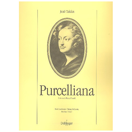 Takács, J.: Purcelliana – Partitur