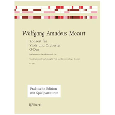 Mozart, W.A.: Violakonzert G-Dur KV191