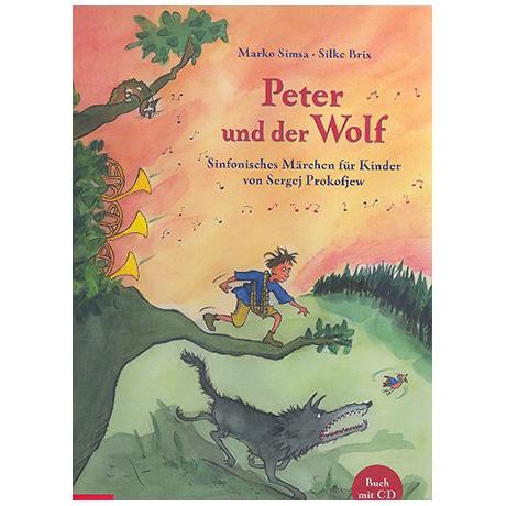 Simsa: Peter und der Wolf (+CD)