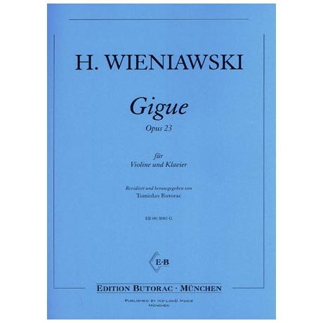 Wieniawski, H.: Gigue Op. 23