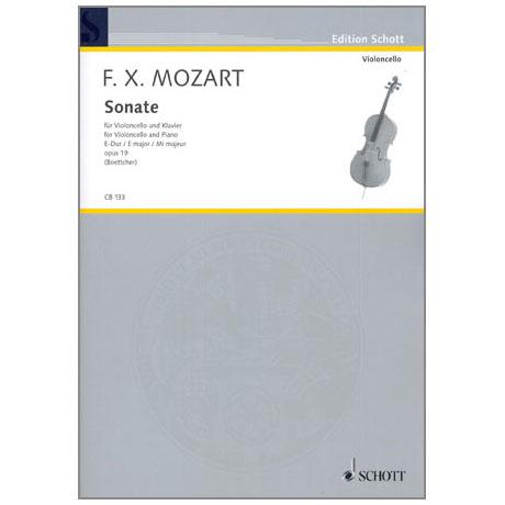 Mozart, F. X.: Sonate Op. 19 E-Dur