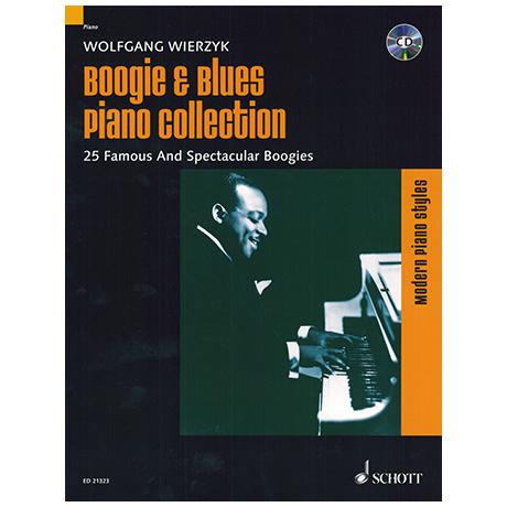 Wierzyk, W.: Boogie & Blues Piano Collection (+CD)