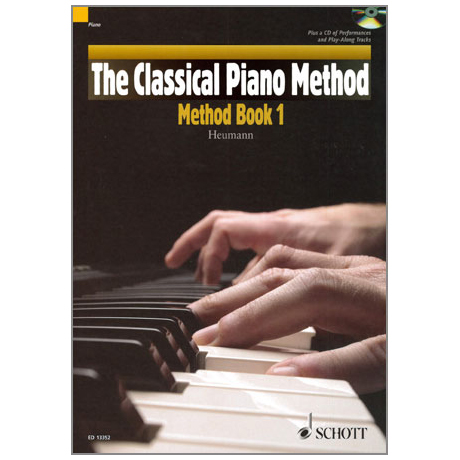 Heumann, H.-G.: The Classical Piano Method – Method Band 1 (+CD)