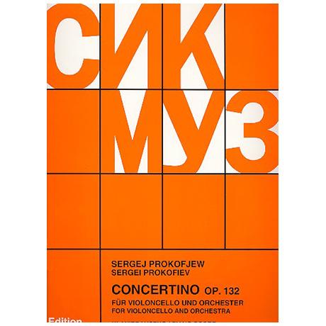 Prokofjew, S.: Concertino g-Moll Op.132