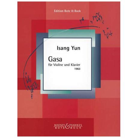 Yun, I.: Gasa