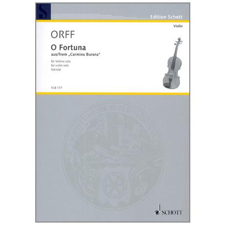 Orff, C.: O Fortuna aus »Carmina Burana«