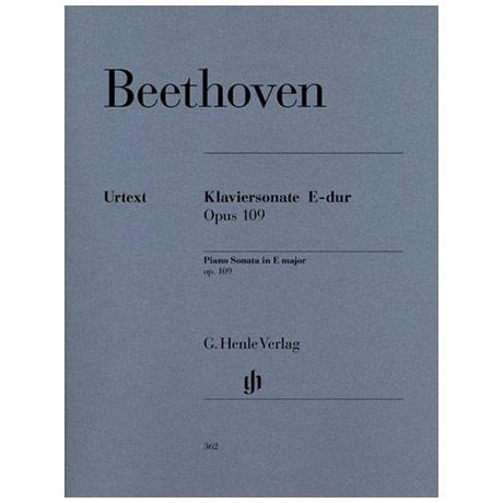 Beethoven, L. v.: Klaviersonate Nr. 30 Op. 109 E-Dur