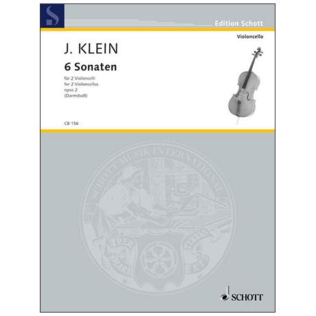 Klein, J.: 6 Sonaten