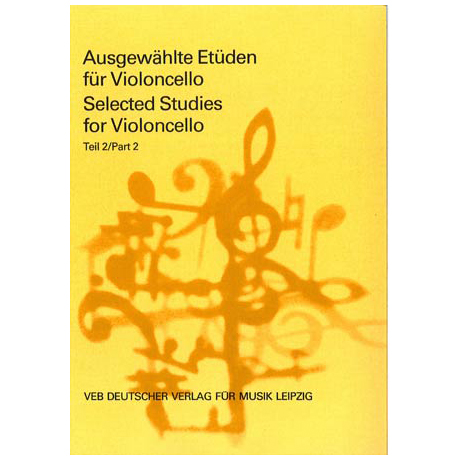 Lösche, H. (Hrsg.): Ausgewählte Etüden für Violoncello Teil 2