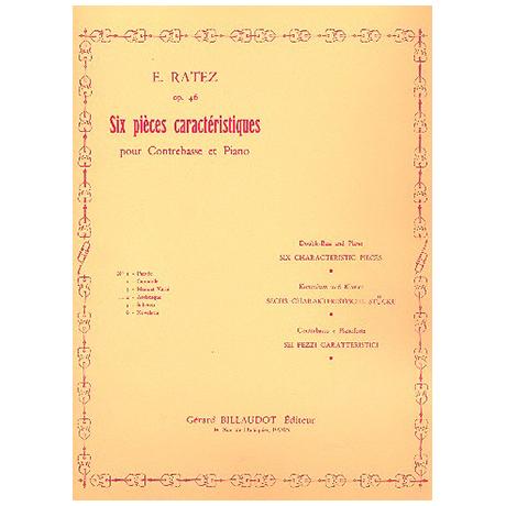 Ratez, E.: 6 Pièces Caractéristiques Op. 46/4 Arabesque