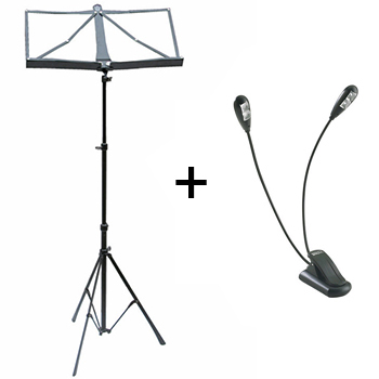 PACATO Stand & Light Set