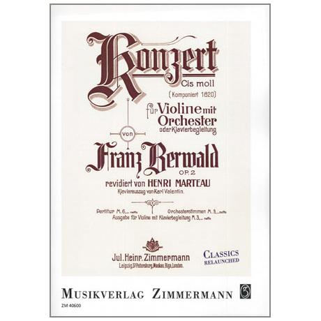 Berwald, F.: Konzert cis-Moll Op.2