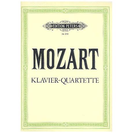 Mozart, W. A.: Klavierquartette g-Moll KV 478, Es-Dur KV 493