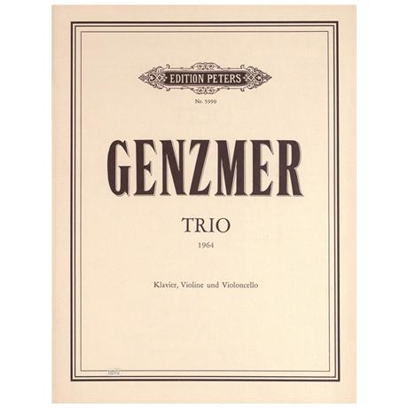 Genzmer, H.: 2. Klaviertrio