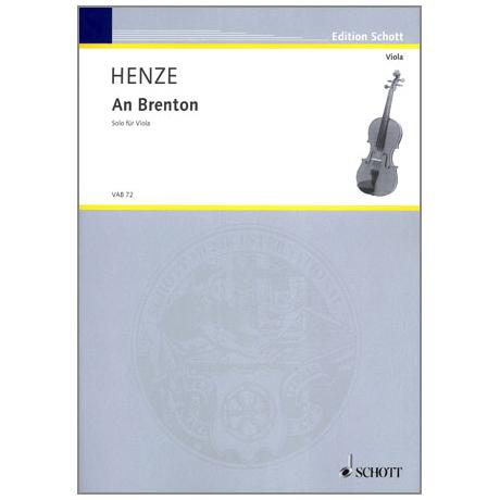 Henze, H.W.: An Brenton