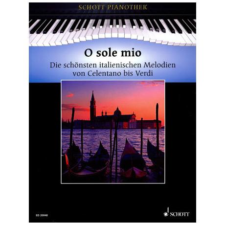 Schott Pianothek: O sole mio