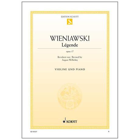 Wieniawski, H.: Légende Op.17