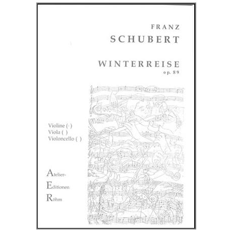 Schubert, F.: Winterreise op. 89