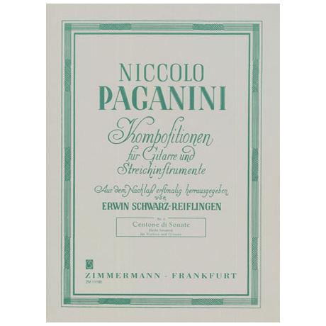 Paganini, N.: Centone di sonate